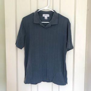 SALE!! 5/$25 Alfani Blue Grey Collared Polo